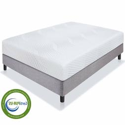 "Best Choice Products 10"" Dual Layered Memory Foam Mattress Q"