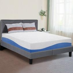 SLEEPLACE 10 Inch I GEL Memory Foam Mattress , Bed,