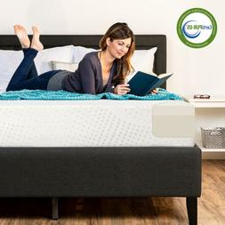 10-Inch Dual Layered Gel Memory Foam Mattress Best Choice Co
