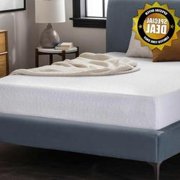 "12"" Cool-Gel Cushion-Firm Memory Foam Mattress 12"" TWIN XL K"