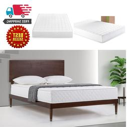 8 Inch Queen Size Mattress Zinus Extra Firm Slumber 1 Coil S
