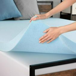 3 4 inch cooling gel memory foam