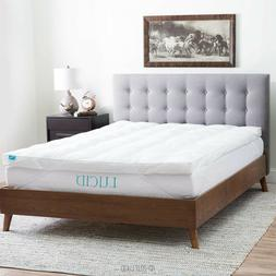3 inch down alternative fiber bed mattress