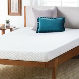 5 inch Gel Memory Foam Mattress Cooling Dual Layer Firm Supp