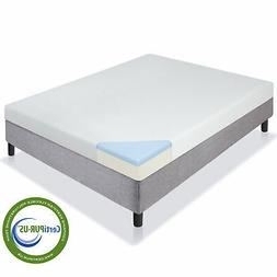 Best Choice Products 5in Dual Layered Gel Memory Foam Mattre