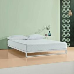 Zinus GEL-INFUSED GREEN TEA MEMORY FOAM MATTRESS, Full Twin