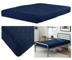 6 Inch Bunk Bed Mattress Quilted Top Cotton And Polyester Fu