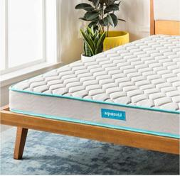 Linenspa 6 Inch Innerspring Mattress-in-a-Box, Queen Size