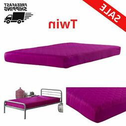 6 inch Mattress Twin Size Quilted Top Bunk Bed Mattresses Ki