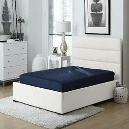 "6"" Quilted Mattress Full Size Soft Foam Home Bedroom Bed Sle"