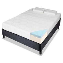 "8"" 10"" 12"" Three Layer GEL Open Cell Firm Memory Foam Mattre"