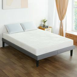 SLEEPLACE 8 Inch Cloud I Gel Memory Foam Mattress, Comfortab