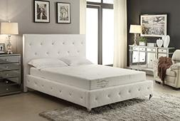 AC Pacific Soft Aloe Collection 8 Inch Luxury Soft Bedroom A