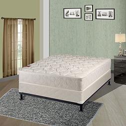 Continental Sleep, 8-inch Fully Assembled Gentle Firm Orthop