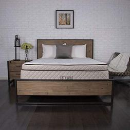 """Elements Latex by Dreamfoam Bedding- Willow 12"""" Eurotop Late"""