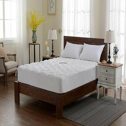 Extra Plush Bamboo Fitted Mattress Pad Topper Cherry Hill Co