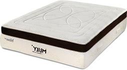 """MLily Bliss 15"""" Luxury Grand Bed Euro Box Top CertiPur-US Ge"""