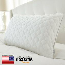 Perfect Cloud Double Airflow Memory Foam Pillow Featuring Co