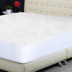Protect-A-Bed Premium Waterproof Mattress Protector, Queen S