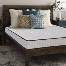 Queen size Mattress Tight Top Innerspring 7 inch - Crown Com
