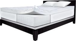 Serta 4-Inch Dual Layer Mattress Topper, Full