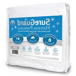 SureGuard Mattress Protectors Queen Size - 100% Waterproof,