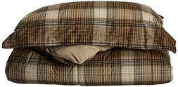 Woolrich Lumberjack Full/Queen Size Bed Comforter Set - Brow