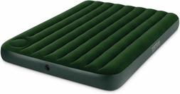 Airbed 8.75 H X 60 W X 80 D Green Intex Imports