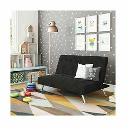 DHP Ariana Kids Sofa Futon, Converts from Futon to Bed for K