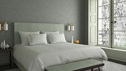 Authentic Egyptian cotton Sheet Set fits mattresses up to 19