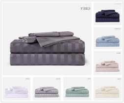Bamboo Comfort Sheet Set W/ Deep Pockets to Fit Extra Thick