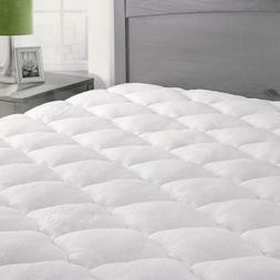 ExceptionalSheets Bamboo Mattress Pad, Extra Plush Cooling T