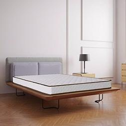 "Best Price Mattress 7"" Basic Tight Top Spring Mattress, Quee"