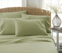 6-Piece Bed Sheet Set by ienjoy Home Collection - 100% Ultra