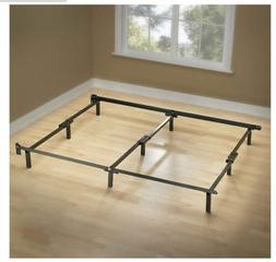 Best King Size Metal Bed Frame 9 Leg Support For Box Spring