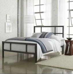 Bundle:Ultra Plush Quilted Mattress  And Full Size Metal Fra
