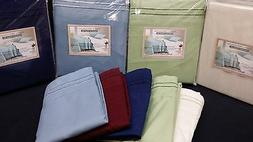Queen size 6PC Sheet set 1800 deep pockets,pillowtop mattres