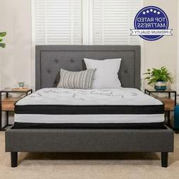 Flash Furniture Capri Comfortable Sleep 12 Inch Foam and Poc