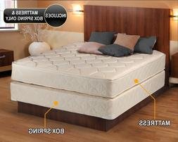 Comfort Classic Gentle Firm Mattress and Box Spring Set -Ful