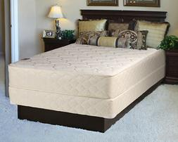 Comfort Rest Gentle Plush Queen Size Mattress and Box Spring