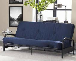 "Dorel Home 8"" Full-Size Futon Mattress, Navy"