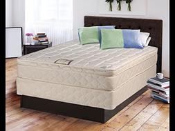 Dreamy Collection fully Assembled Eurotop  Twin Mattress and