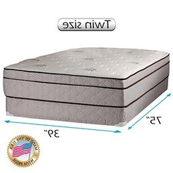 "Dreamy Rest Pillow Top  Twin Size 39""x75""x10"" Mattress and B"