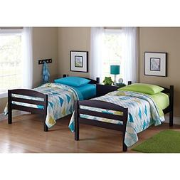 Easy-to-Convert to Twin Bed Practical Space Saver Wood Bunk