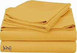 """Queen XL "" Sizes 100% Egyptian Cotton 13 Inches Fit Mattres"