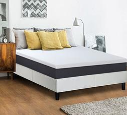 Olee Sleep 10 in Eos Memory Foam Mattress Full 10FM05F