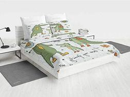 Family Boys Twin Bedding Sets I Love My Family Theme Cute Ha