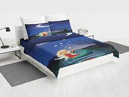 Fantasy Boys Twin Bedding Sets Elf Pixie Sitting on The Boat