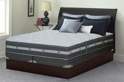 Firm 11-inch Innerspring Euro Top Mattress and 4-inch Split