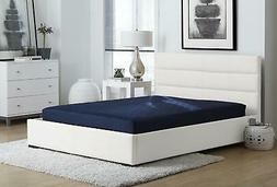 Full Size 6 Inch Quilted Top Bunk Bed Mattress Comfort Polye